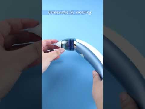 Аспиратор для носа с аккумулятором / соплеотсос с 5 уровнями всасывания и 2 насадками Nasal Aspirator (NА-21147) Video #1