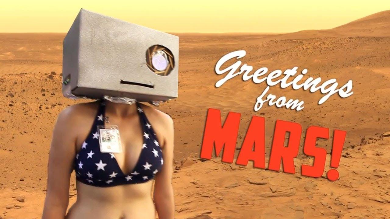 The Mars Curiosity LMFAO Parody Is Perfect