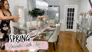 DECORATE WITH ME || DINING ROOM DECOR + UPDATES || SPRING 2020