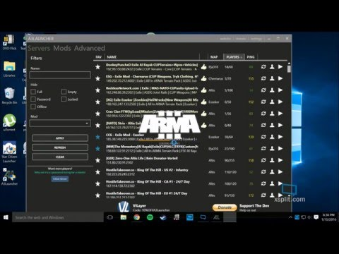 Guide to installing Arma 3 Exile Mod and G4G Exile Esseker Server