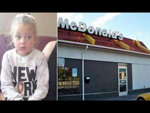 4 yr old rushes out of McDonald's bathroom in tears, then mom sees something on her leg