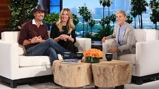 Tim McGraw & Faith Hill's Exclusive Sit Down!