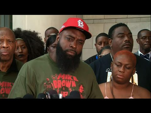 On the fifth anniversary of Michael Brown's death in Ferguson, his father is urging the top St. Louis County prosecutor to reopen the investigation into the white police officer who fatally shot the black and unarmed 18-year-old. (Aug. 9)