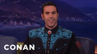 "Sacha Baron Cohen's Deleted ""Borat"" Porno Shoot  - CONAN on TBS"