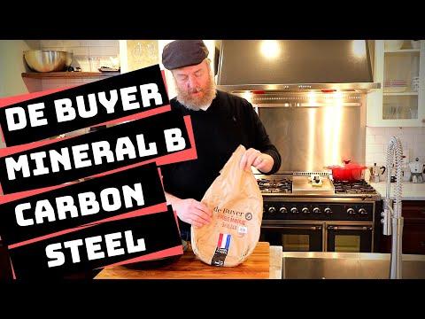 De Buyer Mineral B Seasoning and Cooking