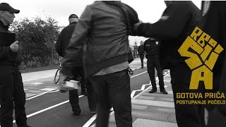 #KomunalnaPolicija koristi silu protiv novinara Istinomera #bgH20