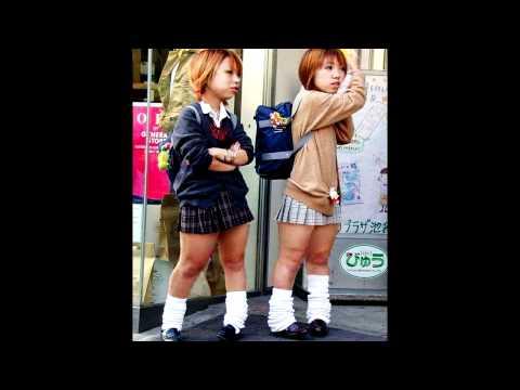 Japanese School-Girl Midgets {Non Banana Finger Version}