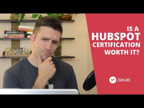 Is a HubSpot Certification Worth the Time and Effort? - YouTube