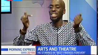 Re-known Kenyan actor, Kim Thiru  speaks on creative arts and theatre | MORNING EXPRESS