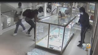 Police Searching For Suspects Who Looted Center City Clothing Store