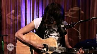 "Chrissie Hynde performing ""I Go To Sleep"" Live on KCRW"