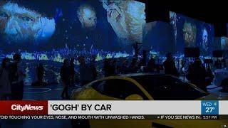 Inside The Immersive Van 'Gogh By Car' Art Exhibit