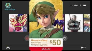 Nintendo eShop Tutorial! How to redeem Nintendo eShop Cards and Codes!