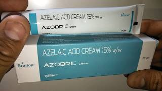 AZOBRIL Cream Review In English Excellent Remedy For Acne & Rosacea