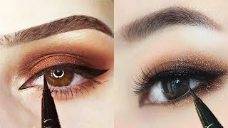 Top 5 : Eye Makeup Trends Natural Tutorial Compilation ♥ 2019 ♥ #130
