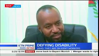 Mombasa County social and communication department headed by persons with disability