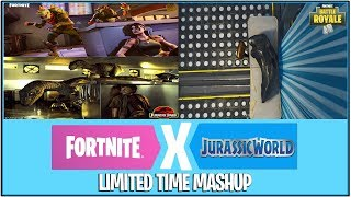 *NEW* Fortnite: JURASSIC PARK x FORTNITE IN THE WORKS!   (Limited Time Gamemode)