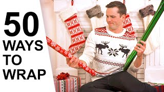 50 Ways to Wrap a Christmas Gift