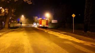 Zanieczyszczenie jezdni w Świerzowej Polskiej