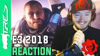 Gears of War 5 E3 2018 Trailer LIVE REACTION (Gears of War 5 Microsoft E3 Press Conference REACTION)