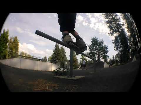Dave Hill at Deer Park skate park
