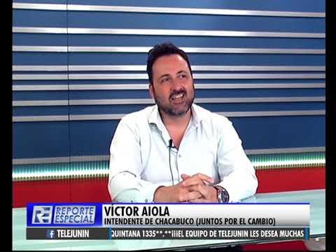 Entrevista con Víctor Aiola