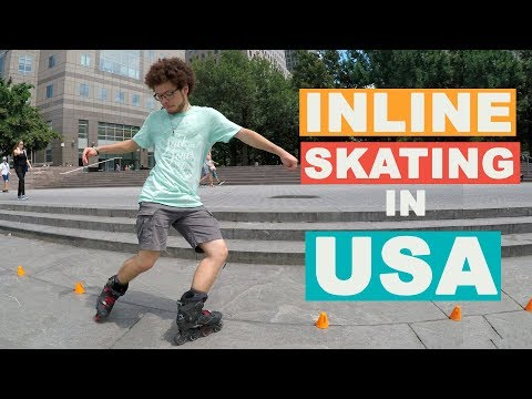 TRAVELING WITH MY INLINE SKATES