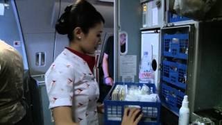 """Cathay Pacific """"A Day in The Life of a Flight Attendant"""""""