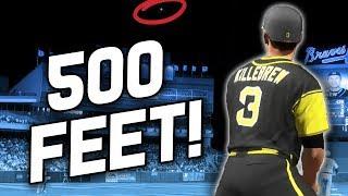 500 FOOT MOONSHOT HOMER! - MLB The Show 17 Battle Royale
