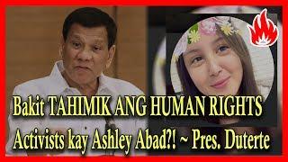 Bakit TAHIMIK Ang Mga AKTIBISTA Patungkol Kay ASHLEY ABAD?! | Usap Usap University