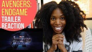 Avengers Endgame - Trailer Reaction!!