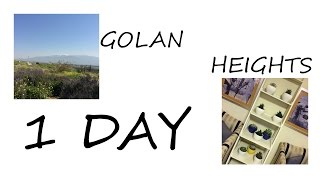 GOLAN HEIGHTS // 1 DAY