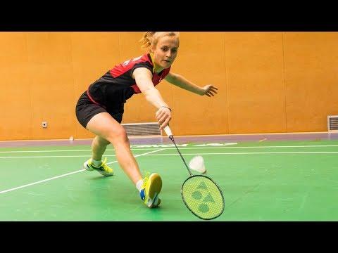 Die Schlagarten im Badminton - Drop, Smash, Drive