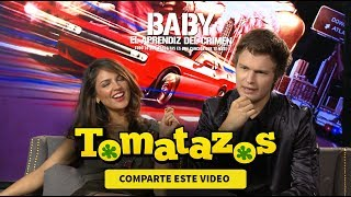 Entrevista Baby Driver: Ansel Elgort y Eiza González | Tomatazos