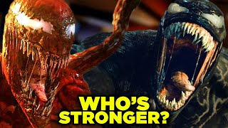 VENOM vs CARNAGE: Who's ACTUALLY Stronger? (Let There Be Carnage Final Battle)   BQ