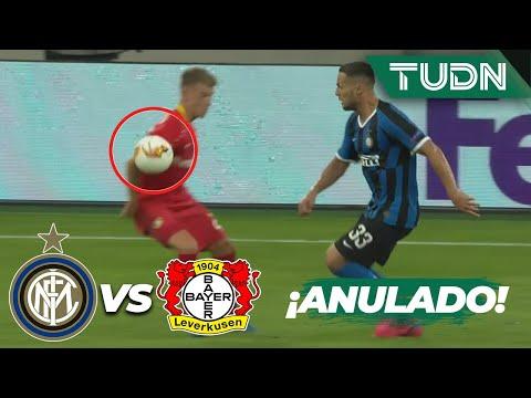 ¡ANULAN el tercero de Inter! | Inter Milán 2-1 Leverkusen | Europa League 2020 – 4tos final | TUDN
