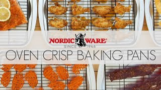 Extra Large Oven Crisp Baking Tray Video