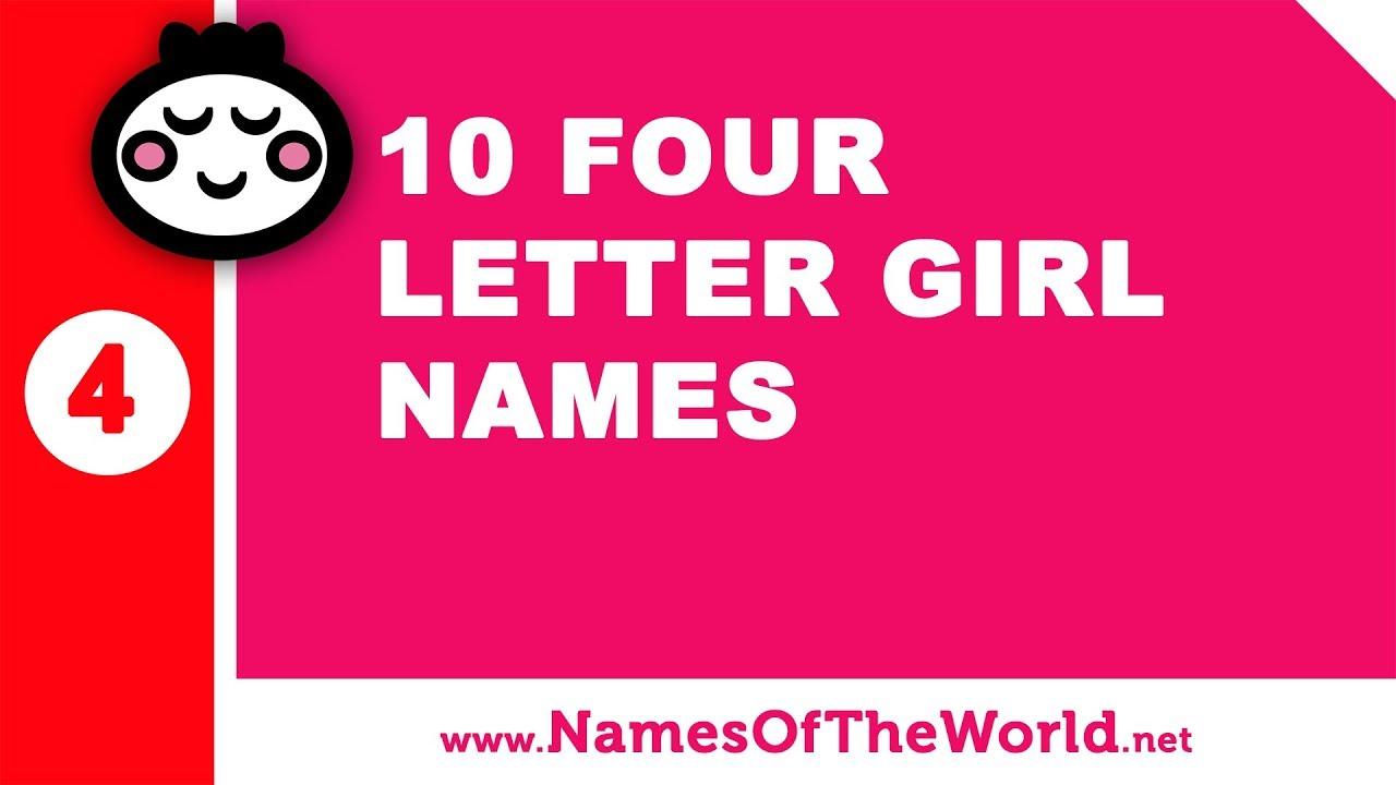 10 four letter girl names - the best baby names - www.namesoftheworld.net