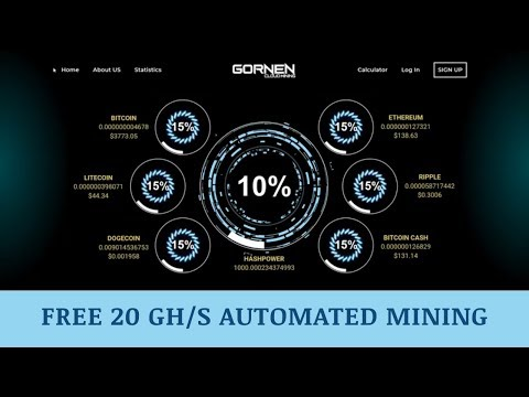 Gornen.com отзывы 2019, mmgp, обзор, Altcoin and Bitcoin Cloud Mining, get Free 20 Gh/s