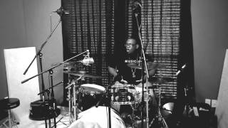 Bryan Johnson - Recording Drums for Abram Dean