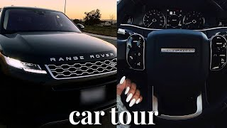 I Bought My Dream Car! 2020 Range Rover Car Tour!♡