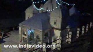 Gangotri Temple, a night view