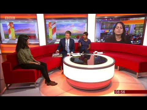 Sam Owen on BBC Breakfast TV - 28/07/18<br />Discussing Research: 10 questions Every Couple Should Ask