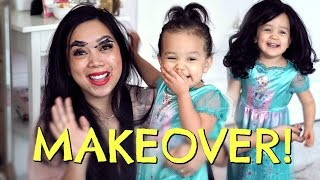 I got a Mommy make over from my daughter Miya Watch it here on ItsMommysLIfe