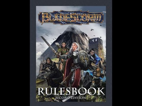 Bladestorm Second Edition Rulesbook review