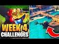 Fortnite Season 8 Week 4 Challenges GUIDE! How To Do Week 4 Challenges In Fortnite - Tutorial