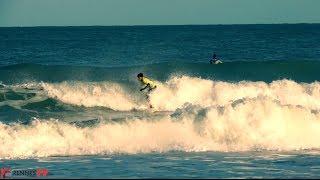 preview picture of video 'St-Malo & St-Lunaire : Grandes marées, tempête, surf et forte houle - Février 2014'