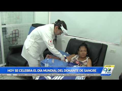 Dona sangre, dona ahora, dona a menudo: invitación en el día mundial del donante