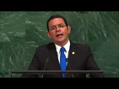Traduciendo el discurso del presidente Jimmy en la ONU