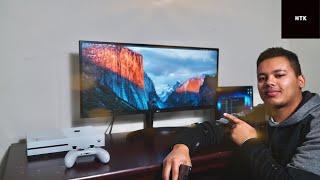 LG Ultrawide Monitor ~ Unboixing ~ Setup ~ Impression ~ 34WL500